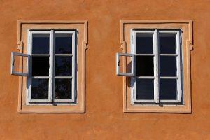drewniane okna skandynawskie