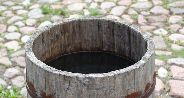 Zbiornik idealny do gromadzenia wody deszczowej